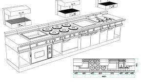 plan de cuisine professionnelle plan cuisine professionnelle normes