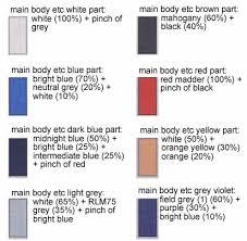 hg gundam dantalion english color guide u0026 paint conversion chart