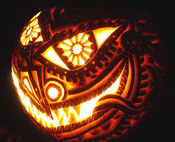 lighted halloween pumpkins 21 spooky pumpkin carvings ideas for halloween decor pennyroach