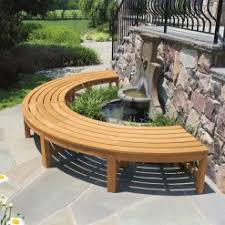 Curved Outdoor Benches Curved Benches Outdoor Teak Benches Country Casual