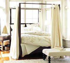 Curtain Beds Bed Canopy Drapes Excellent Endearing Curtains For Canopy Bed With