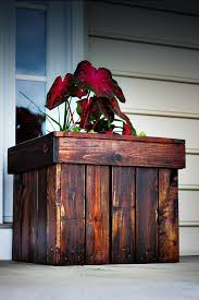 Diy Planter Box by 32 Best Diy Pallet And Wood Planter Box Ideas And Designs For 2017