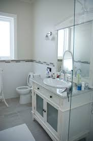 Grey And White Bathroom by Easy Towel Dying Sweet