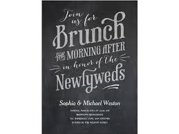 wedding brunch invitation wording our favorite day after wedding brunch invitations brunch