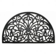Half Moon Doormat Wrought Iron Doormat Foter