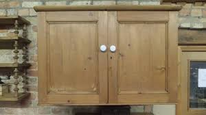 victorian pine wall cupboard perfect kitchen cupboard in sold