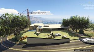 modern mansion modern mansion under construction menyoo gta5 mods com