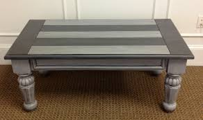 painted coffee tables with classic gray painted coffee tables