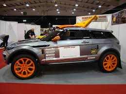 modified range rover evoque evoque off road racer 6 2 liter corvette v8