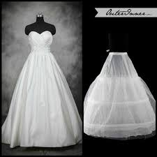 wedding dress hoops how to choose the right petticoat for your wedding dress