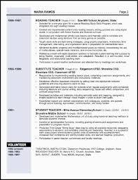 teaching resume example sample teacher resume sample teacher