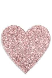 Heart Shaped Items Next Pink Heart Shaped Rug Bluewater 18 00