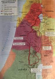 Gennesaret Map John