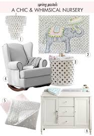 Pottery Barn Kids Chandeliers Spring Pastel Nursery