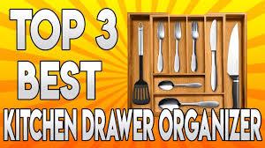 Kitchen Drawer Organizer Top 3 Best Kitchen Drawer Organizer Youtube