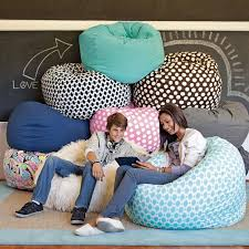Pottery Barn Kids Bean Bag Chairs Pool Washed Twill Large Beanbag Pbteen Kids Playroom