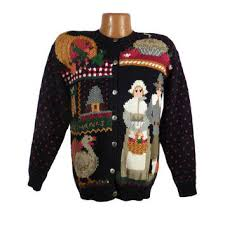 sweater vintage tacky thanksgiving