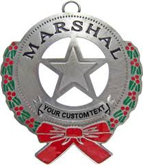 western ornaments pieces of history west custom badges