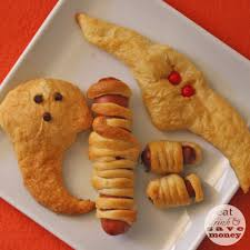 halloween themed crescent roll snacks eat drink and save money