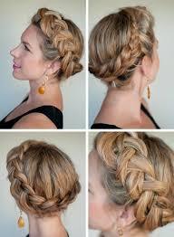 Hochsteckfrisurenen Und Z Fe by Dänischer Zopf Flechten Hochsteckfrisur Haarklammern Haare