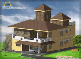 3 house elevations over 2500 sq ft kerala home design and floor