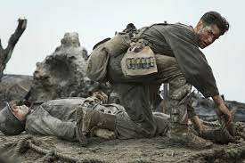 Famous Picture Of Soldiers Putting Up Flag Hacksaw Ridge Is A Red State Movie About A Wwii Hero Who Won U0027t