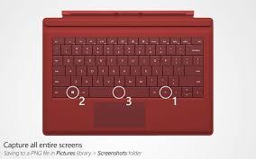 screenshot microsoft surface