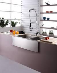 kraus farmhouse sink 33 stainless steel kitchen sink combination kraususa com