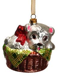 Glass Christmas Tree Ornament - chihuahua christmas ornament deizinz blog