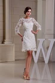 white lace dress with sleeves knee length white lace dress knee length stop bv