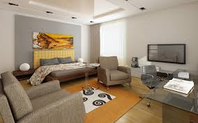 Home Decor For Bachelors by Houses Minimalist Bachelor Pad Ideas With Big Dark Red Carpet