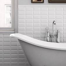 feature tiles bathroom ideas mini metro 7 5x15cm bathroom metro tiles