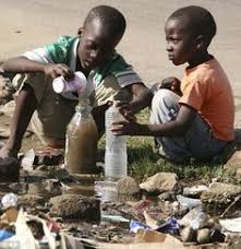 African Kid Meme Clean Water - beautiful african child drinking from a tap water scarcity symbol