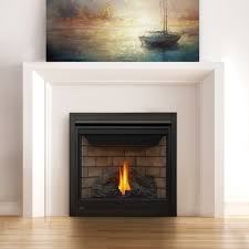 freestanding direct vent gas fireplace modern home
