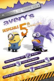 Minions Invitation Card 115 Best Fiesta Minions Invitaciones Minions Party Invitations