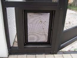 Exterior Pet Door Sb4 Pet Screen Door For Screened And Glass Lanais Porches