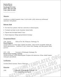 dental hygiene resume template 3 dental hygienist resume exle exles of resumes
