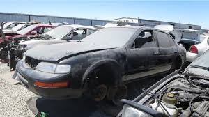 junkyard find 1996 nissan maxima gxe with five speed the truth