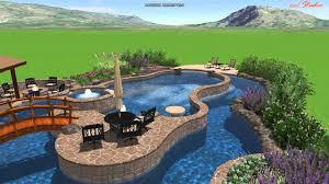 Custom Backyards 1000 Ideas About Backyard Best Lazy River Swimming Pool Designs