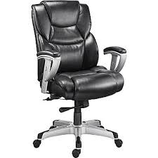 Leather Office Armchair Staples Denville Bonded Leather Big And Tall Manager U0027s Chair