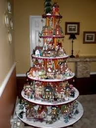 Christmas Village Window Decorations by I Think This Is Such A Cute Idea Just An Old Ladder A Few Boards