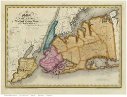 County Map Of New York State by Longisland 1829 Queens Kings Rich Burr Web Jpg