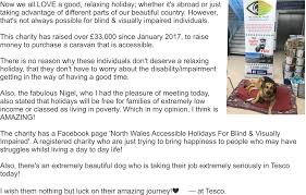 Be Blind For A Day North Wales Accessible Holidays For Blind And Visually Impaired