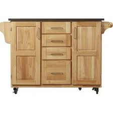kitchen island cart with stainless steel top one allium way menthe kitchen island with stainless steel top