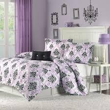 Twin Comforter Katelyn Purple Twin Comforter Set