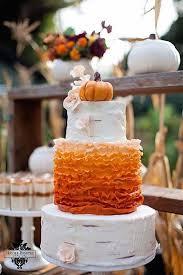 fall wedding cakes spectacular fall wedding cake ideas modwedding
