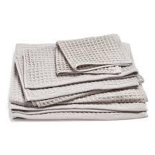 Waffle Weave Kitchen Towels Uchino Air Waffle Towels