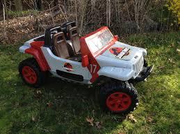 nerf gun jeep jurassic park jeep hurricane modifiedpowerwheels com