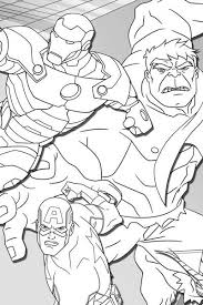 avengers assemble coloring page avengers activities marvel hq