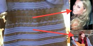 science of the blue and black white and gold optical illusion